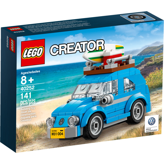 lego mini volkswagen beetle set 40252 packaging brick. Black Bedroom Furniture Sets. Home Design Ideas