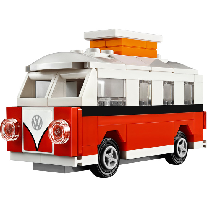 lego mini vw t1 camper van set 40079 brick owl lego marketplace. Black Bedroom Furniture Sets. Home Design Ideas