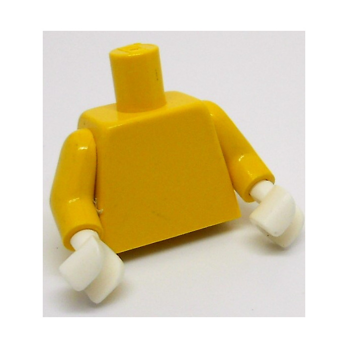 Lego Minifig TORSO TORSO with ARMS 973 Many Colors Selection Used D 9