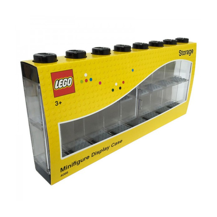 Bedwelming LEGO Minifigure Display Case 16 – Red (5004892)   Brick Owl - LEGO #AU41