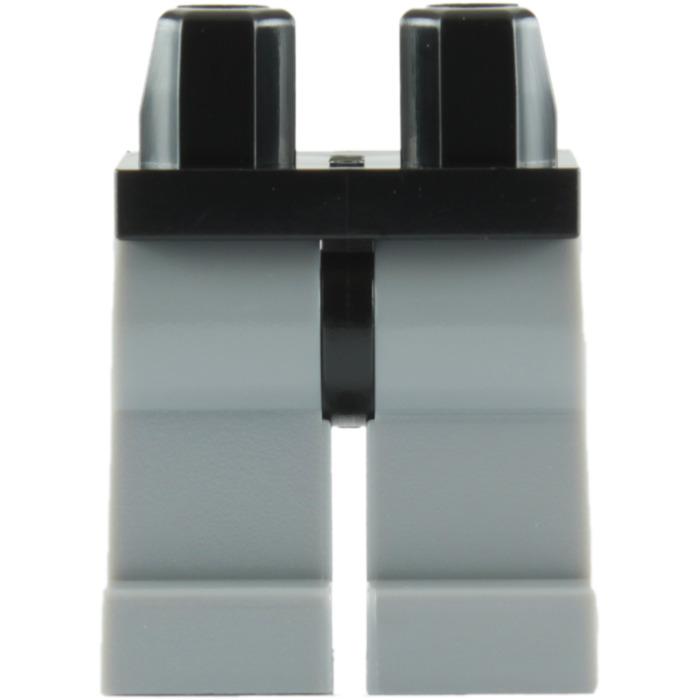 Lego 6  Leg  Legs Lower Parts For Minifigures Medium Stone Grey