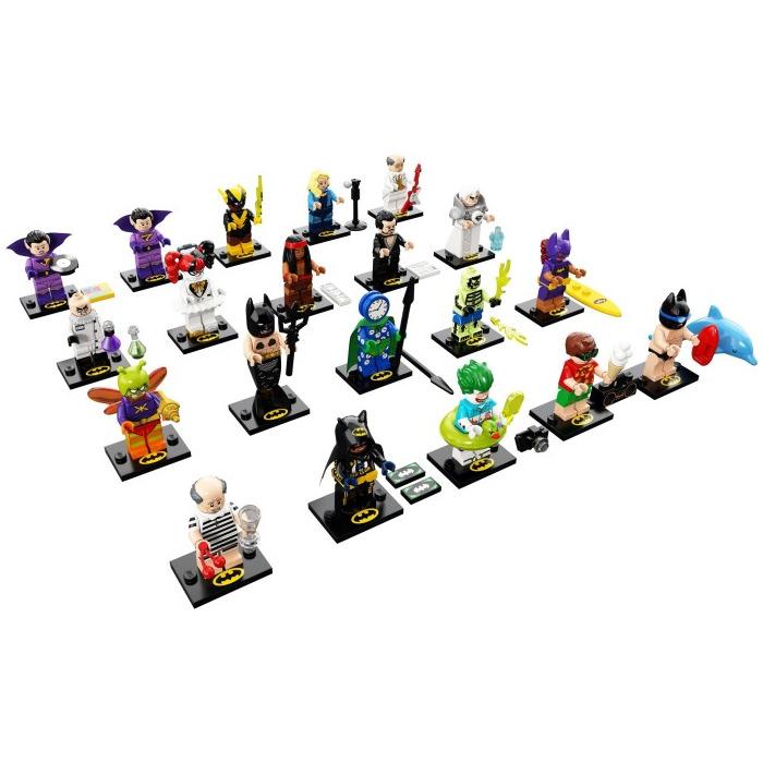 LEGO  FIGURINE  BATMAN SWIMMING POOL SERIE  71020 *COMME NEUF*