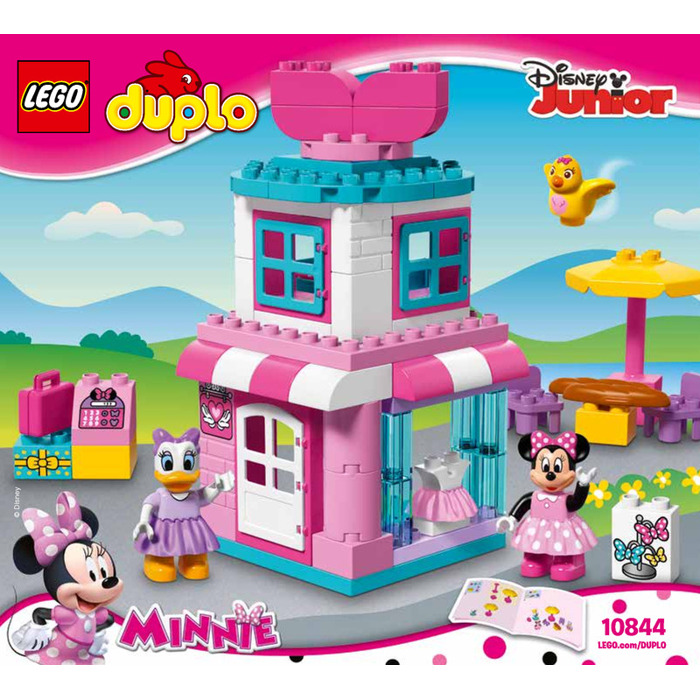 Lego Minnie Mouse Bow Tique Set 10844 Instructions Brick Owl