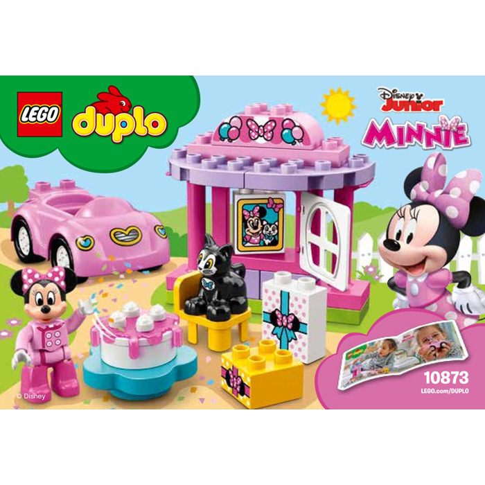 LEGO Minnies Birthday Party Set 10873 Instructions