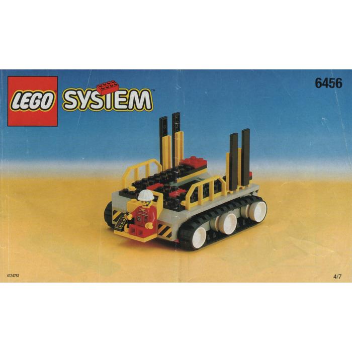 LEGO Mission Control Set 6456 Instructions