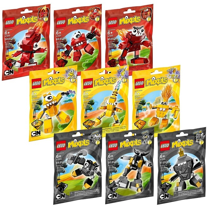 lego mixels series 1 collection set 5003799 brick owl lego marketplace. Black Bedroom Furniture Sets. Home Design Ideas