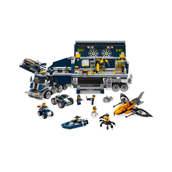 lego titanium command rig instructions