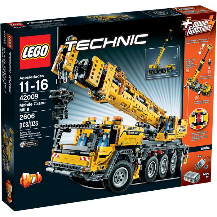 lego crane 42009
