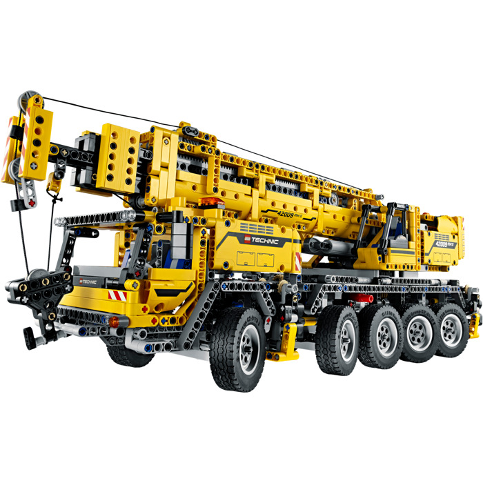 lego mobile crane mk ii set 42009 brick owl lego. Black Bedroom Furniture Sets. Home Design Ideas