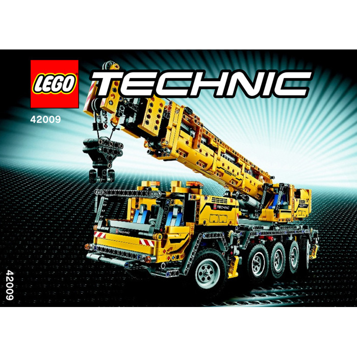 Lego Mobile Crane Mk Ii Set 42009 Instructions Brick Owl Lego