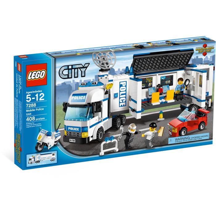 Lego Mobile Police Unit Set 7288 Brick Owl Lego Marketplace