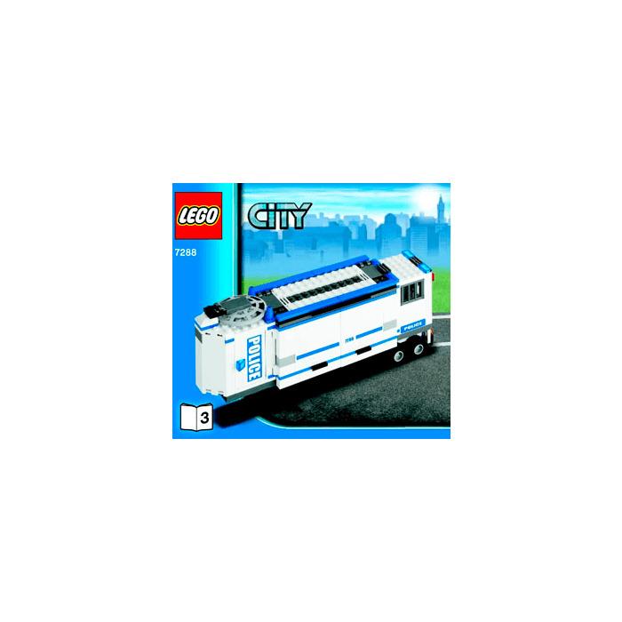 Lego Mobile Police Unit Set 7288 Instructions Brick Owl Lego
