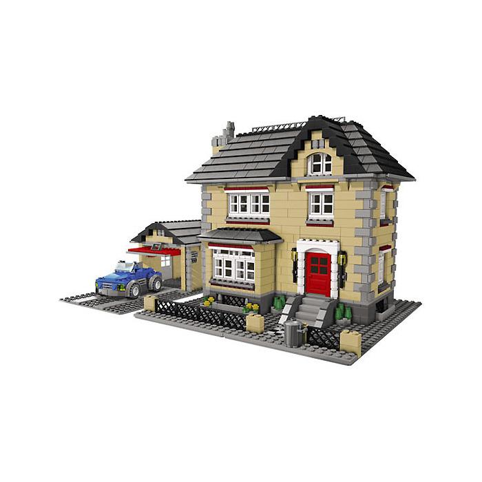 Plan De La Ville De Lego Friends