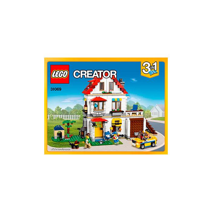 Lego Modular Family Villa Set 31069 Instructions Brick Owl Lego