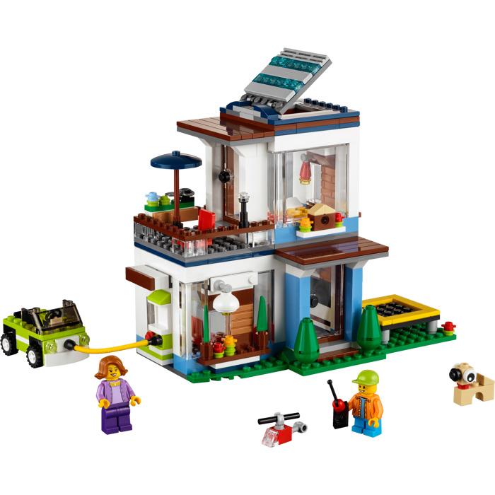 Modernes Lego Wohnzimmer 2018: LEGO Modular Modern Home Set 31068