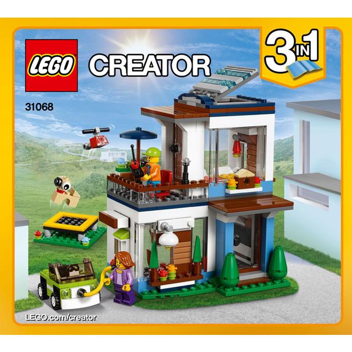 Lego Modular Modern Home Set 31068 Instructions Brick Owl Lego