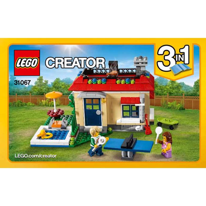 Lego Modular Poolside Holiday Set 31067 Instructions Brick Owl