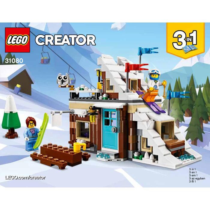 Lego Modular Winter Vacation Set 31080 Instructions Brick Owl