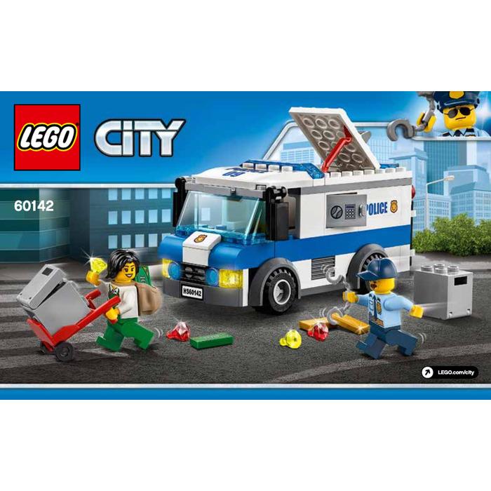 Lego Money Transporter Set 60142 Instructions Brick Owl Lego