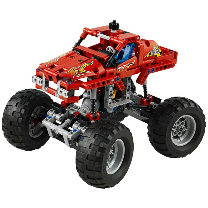 Lego Monster Truck Set 42005 Brick Owl Lego Marketplace