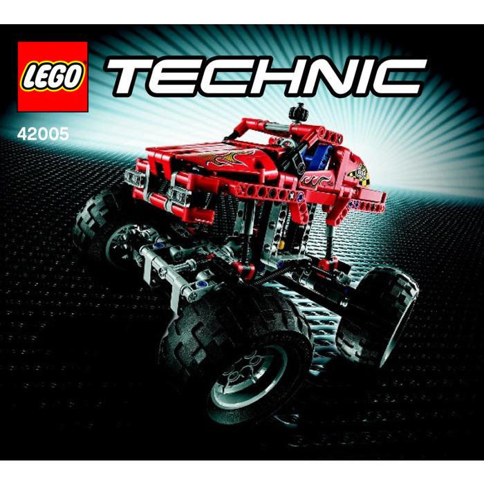 Lego Monster Truck Set 42005 Instructions Brick Owl Lego Marketplace