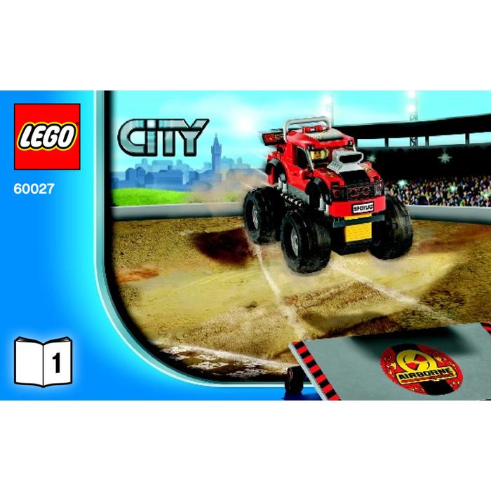 Lego Monster Truck Transporter Set 60027 Instructions Brick Owl