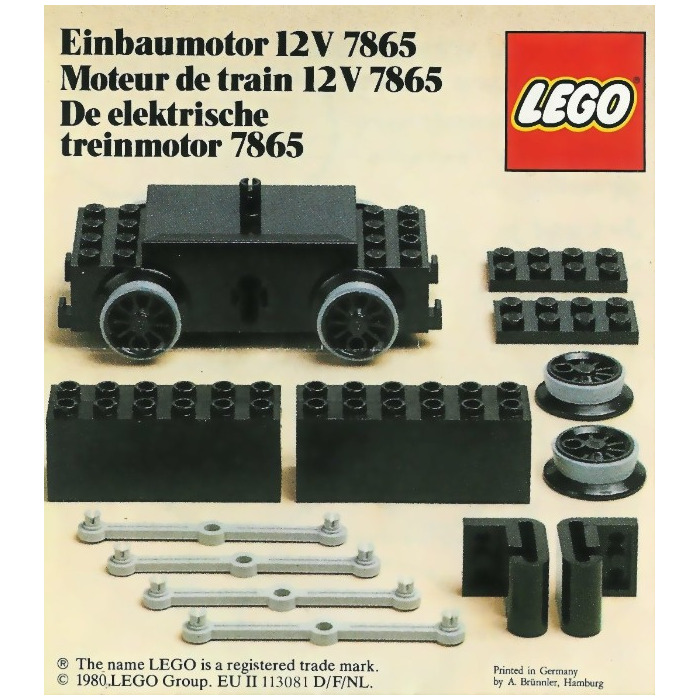Lego Brick 2 X 6 X 2 Weight With Plate Bottom 2378