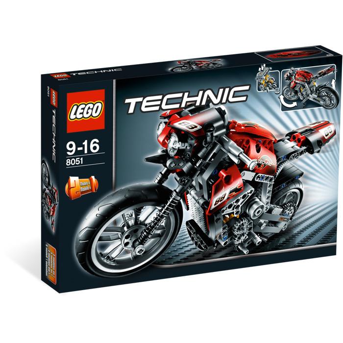 lego motorbike 8051 brick owl lego march. Black Bedroom Furniture Sets. Home Design Ideas