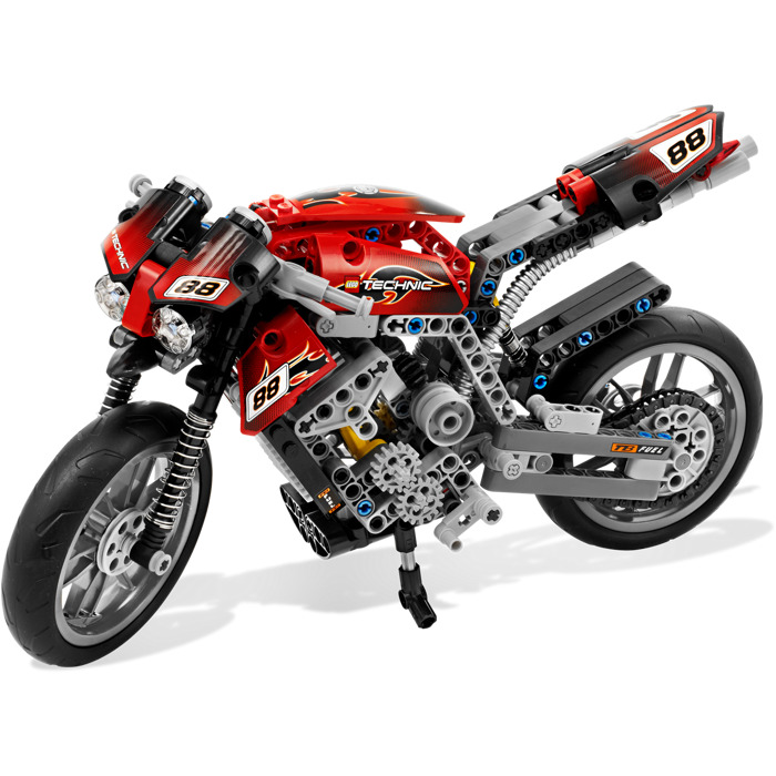 lego motorbike set 8051 brick owl lego marketplace. Black Bedroom Furniture Sets. Home Design Ideas