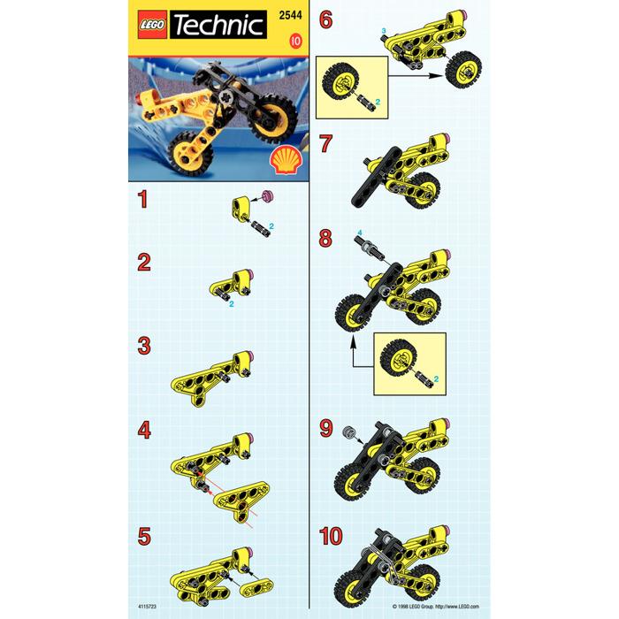 Lego Motorcycle Set 2544 Instructions Brick Owl Lego Marketplace