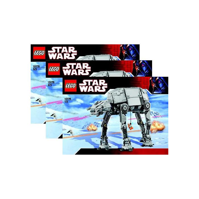 Lego Motorised Walking At At Set 10178 Instructions Brick Owl