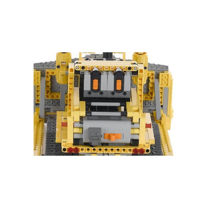 lego motorized bulldozer set 8275 brick owl lego