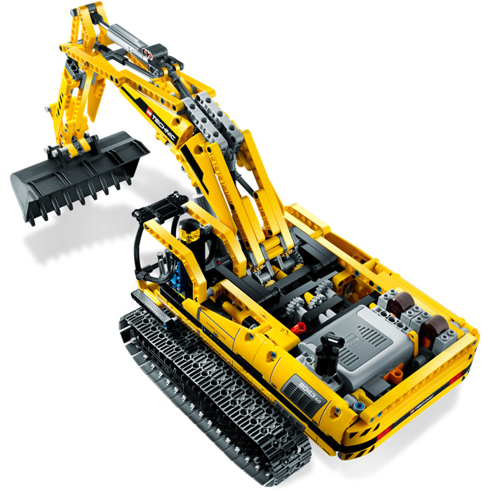 Lego Motorized Excavator Set 8043 Brick Owl Lego Marketplace