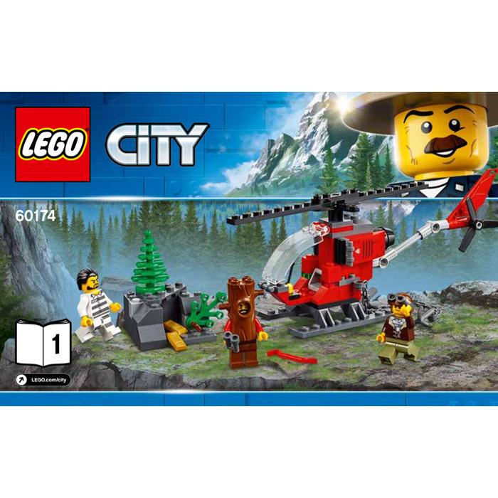 Lego Mountain Police Headquarters Set 60174 Instructions Brick Owl