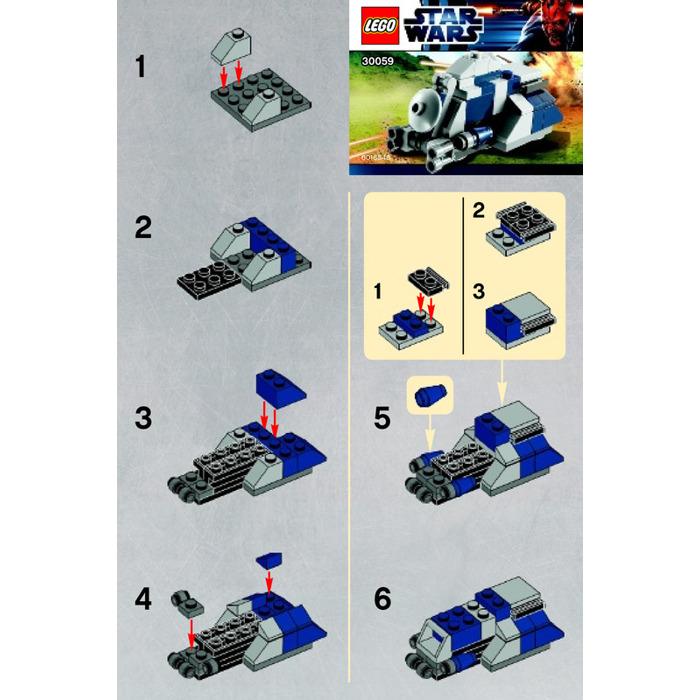 Lego Mtt Set 30059 Instructions Brick Owl Lego Marketplace