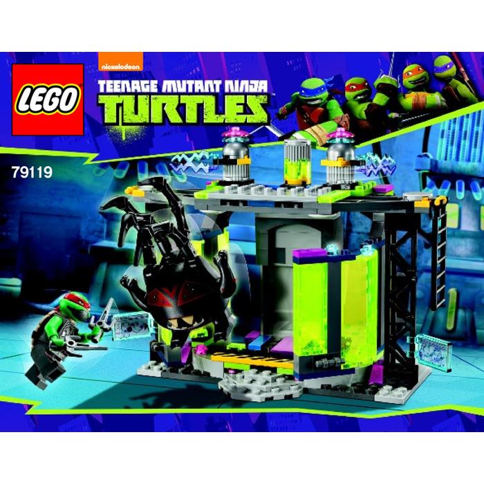 Lego Mutation Chamber Unleashed Set 79119 Instructions Brick Owl