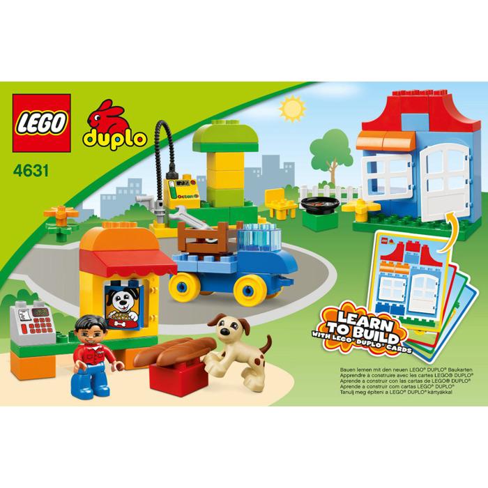 Lego My First Build Set 4631 Instructions Brick Owl Lego Marketplace