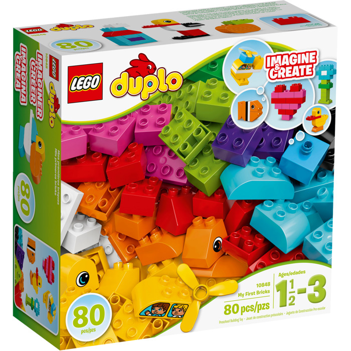 LEGO My First Building Blocks Set 10848