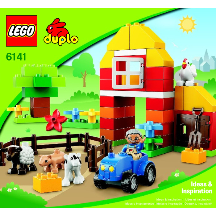 Lego My First Farm Set 6141 Instructions Brick Owl Lego Marketplace