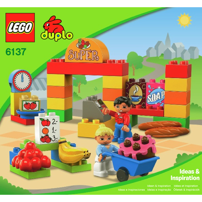 Lego My First Supermarket Set 6137 Instructions Brick Owl Lego