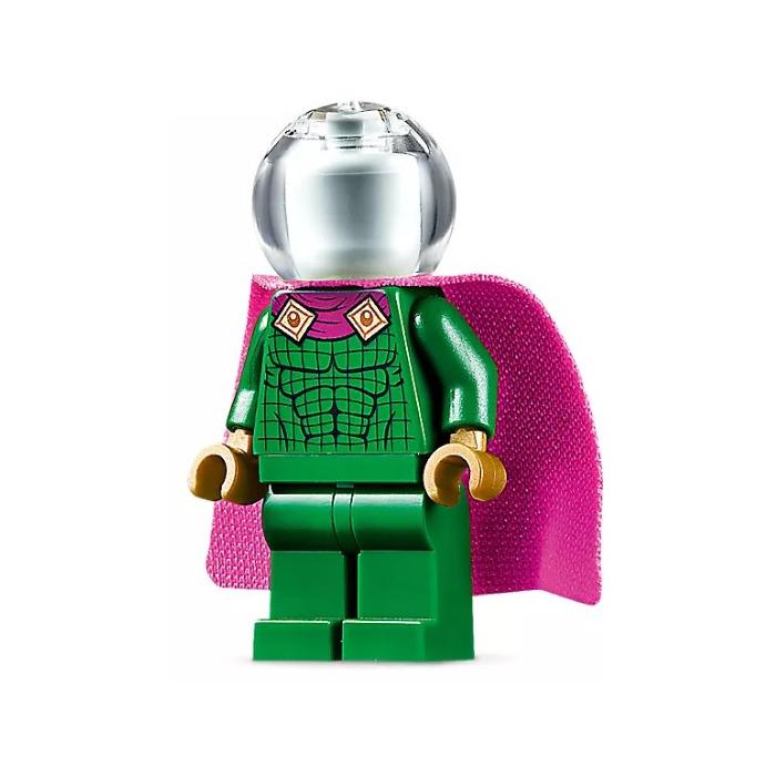 Lego Figure Mysterio sh580 Magenta Trim