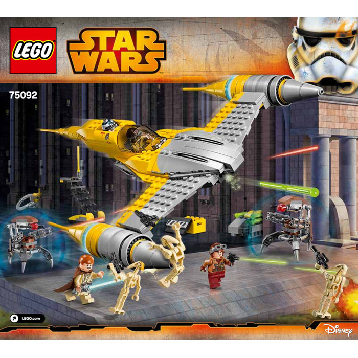 lego star wars naboo starfighter instructions