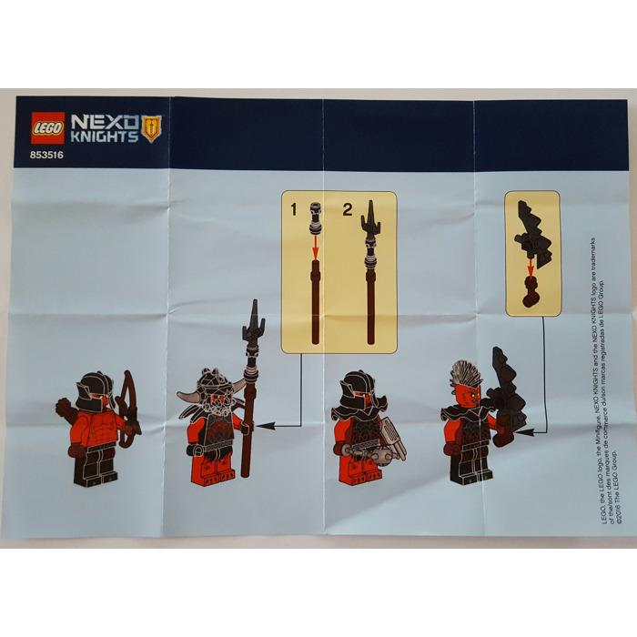 Lego Ninjago Accessory Set 853544 Instructions Brick Owl Lego