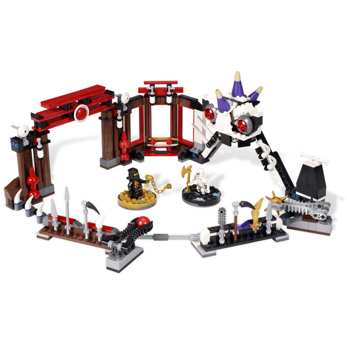 Lego ninjago battle arena set 2520 brick owl lego marketplace - Ninja vert lego ...