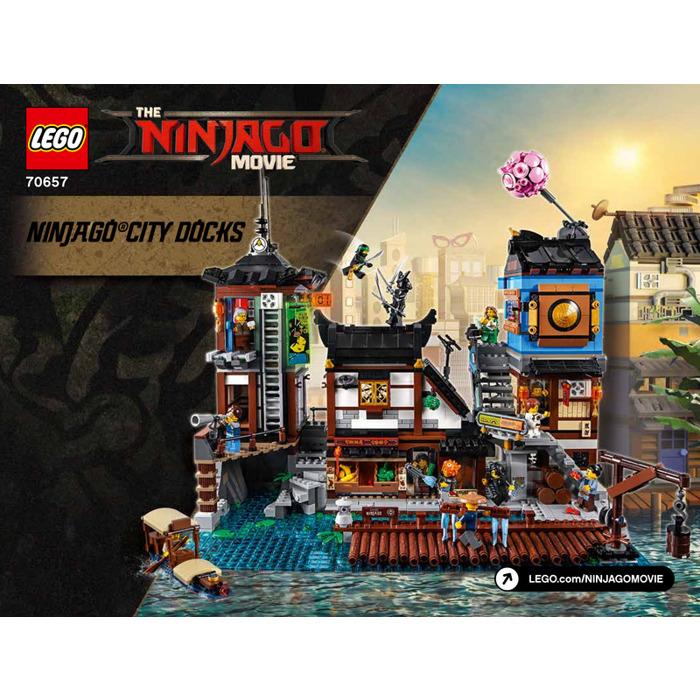 Lego Ninjago City Docks Set 70657 Instructions