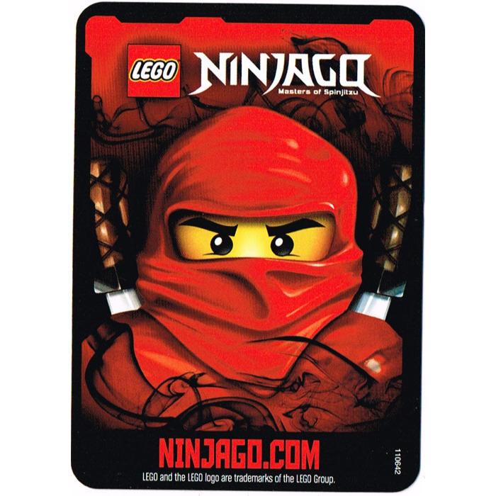 LEGO Ninjago Deck Number 2, Game Card 25, Lloyd (International ...