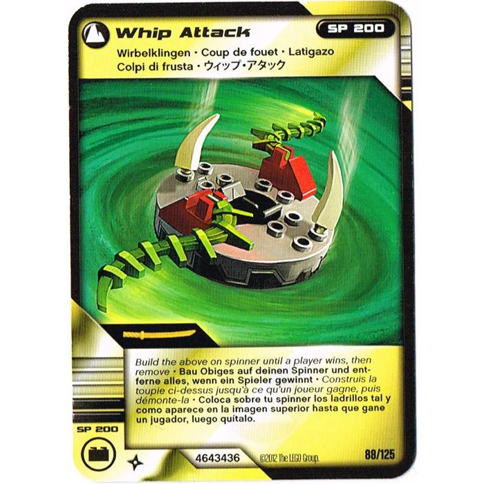 LEGO Ninjago Deck Number 2, Game Card 88, Whip Attack (International ...