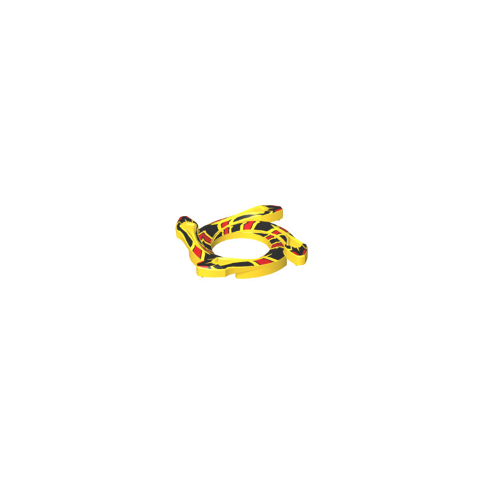 Spinner Crown Ring Ninjago Snake Ring with 4 Snakes LEGO