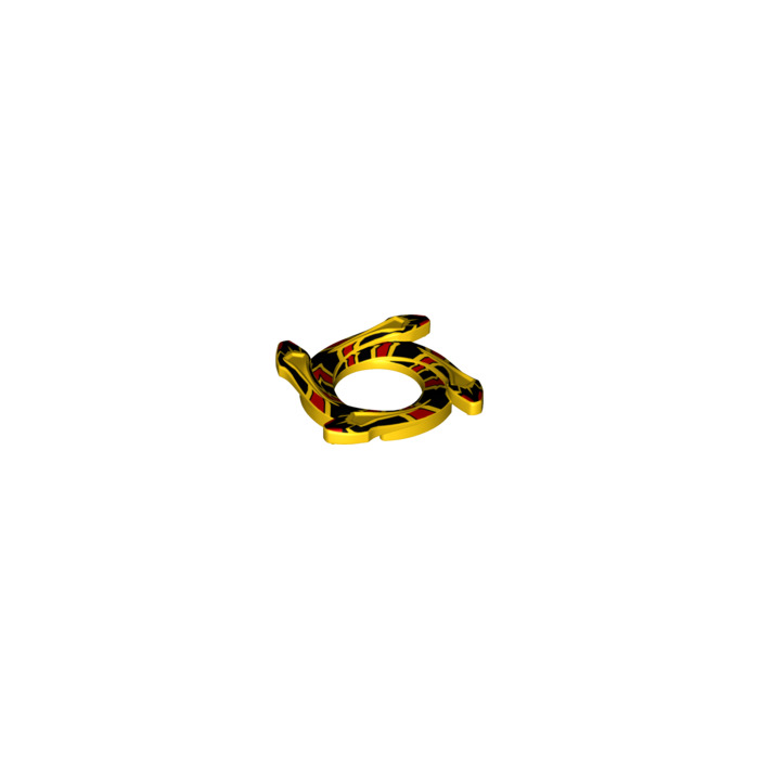 Ninjago Snake Ring with 4 Snakes LEGO Spinner Crown Ring