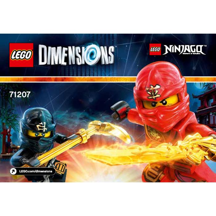 Lego ninjago team pack set 71207 instructions brick owl - Lego ninjago team ...